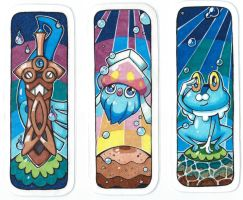 Pokemon bookmarks 2 by SunnyLedian
