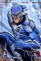 Blue Lantern Flash PSC by chris-foreman