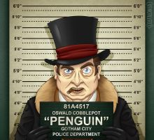 Gotham City Mugshots - Penguin by Costalonga