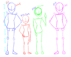 Height Chart by TargetGirl