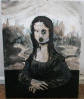 The Mona Lisa is a robot by Jety-Lefr