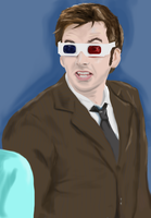 10th Doctor - 3D by Doctor-Who-Quotes