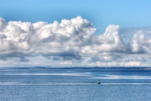 Ardwall Island Sea and Sky by Okavanga