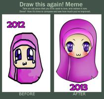 OLD ART and NEW ART by khadijahmuslimah
