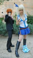 Loki and Lucy Fairy Tail by LauzLanille