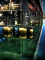 Under Pyrmont HDR by youwha