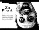 Ze Frank Layout in Type by thewalker09