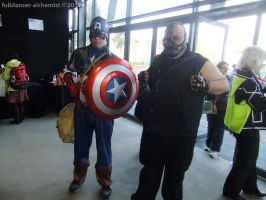Manifest 2012 - Captain America and Bane by fulldancer-alchemist
