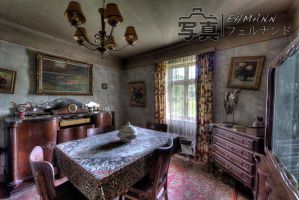 Old Living Room by feuxfeux