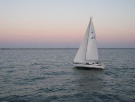 aha, sailboat by geegeeSAUR