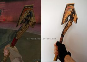 Crossfire BC Axe Royal Dragon Papercraft 3 by svanced