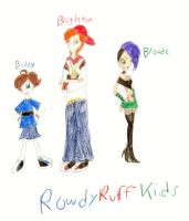 The PPGX: RowdyRuff Kids by PurfectPrincessGirl