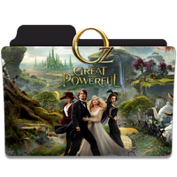 Oz The Great and Powerful Folder Icon by efest