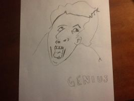 Genius Face (not by me) by SephirothZilla