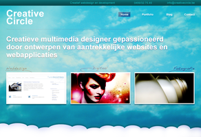 Website on clouds by creativecircle