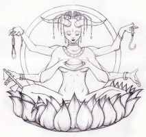 shiva by Encre-Age