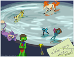 PMDSC Winter Event by Flame-Shadow