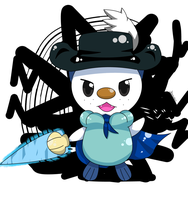 Oshawott the musketeer by hoyeechun