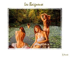 Les Baigneuse by Wimmeke63