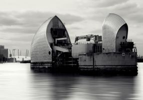 Thames Barrier by AuntBob