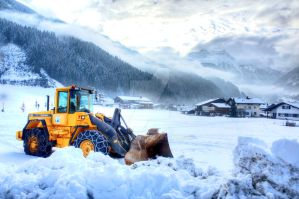 Austria in Snow by cathy001