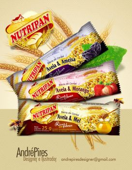 Cereais Nutripan by andrepiresdesign