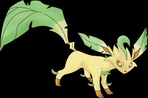 Pokemon Leafeon by Zimonini