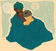 Blanket Cuddling by BEEkilligan