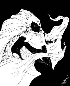 Moon Knight by Bya-Bya