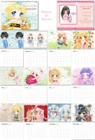Chibis Calendar 2011 by tho-be