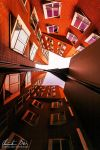 Gehry Buildings Dusseldorf 02 by Nightline