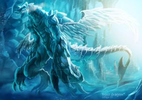frost dragon by leelarungsun