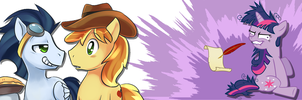 Twilight Sparkle likes shipping fics by nsaiuvqart
