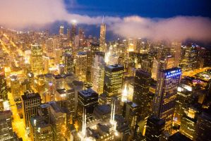 View from Willis Tower 3 (Sears Tower) by ANNIHILATOR001