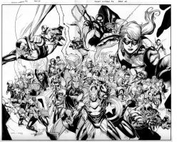 secret invasion 6  pgs 20-21 by MarkMorales