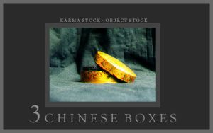 3 Chinese Boxes by KarmaStock
