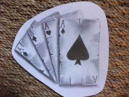 Playing Cards Drawing by CircusBug