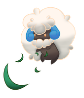 No.547 Shiny Whimsicott by EatsSweets
