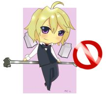 +Chibi Shizuo+ by Meep-and-Mushrat
