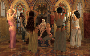 New Decorations for the Throne Room 17g by StefanieWalker