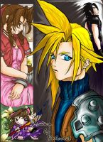 Final Fantasy 7 by Valcristsan