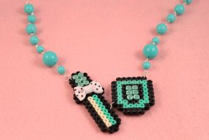 Legend of Zelda OoA Necklace by PeppermintPuff