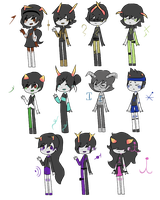 Fantroll adopts 2 (1/11) 25 points sale! by peachymoo