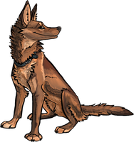 Canis Ferox Commission by Kerrzai