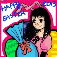 happy easter by X3carlyX3