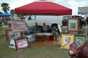 OUR BOOTH AT SHOWS by Chickenoftheland