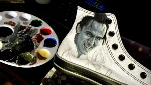 Thor: The Dark World- Loki Converse WIP by GeeFreak