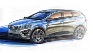 Volvo XC60 Marker Sketch by Spencer-Design