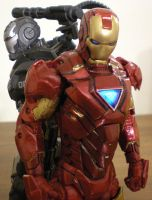 Iron Man 6 Inch by future-trunks