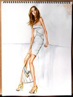 Fashion Illustration No3 by soojin926